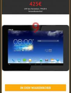 [Dealclub.de] Asus Padfone Bundle A86 Smartphone + Tablet 16GB, 2GB RAM, 2,2 GHz, Full HD (B-Ware)