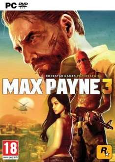Max Payne 3 PC DVD Game