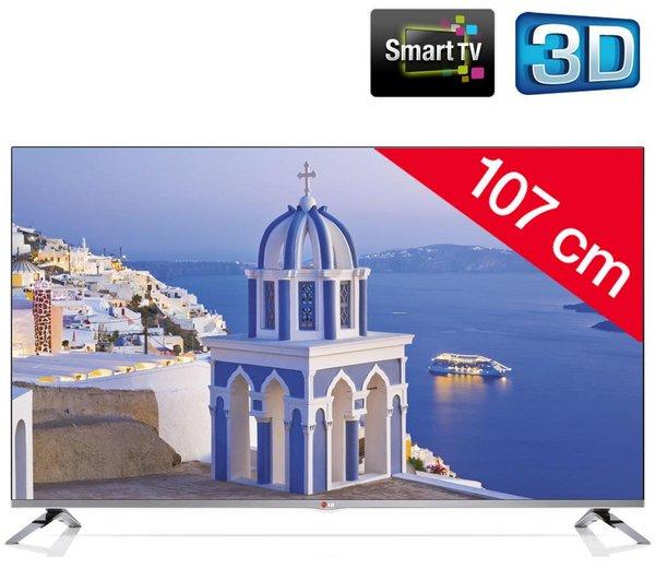 [Pixmania.de] LG42LB670V - LED-Fernseher 3D Smart TV, 42Zoll/106cm, 700Hz, Idealo.de ab 664,99€