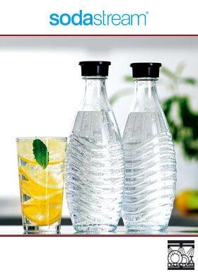 2 Sodastream Ersatz Glaskaraffen - Offline Norma