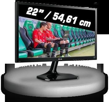 [One.de] 22 Zoll TFT LG Flatron 22M45HQ-B, 89,99 € inkl. Versand