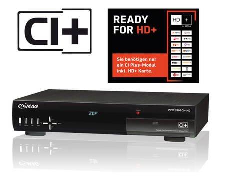 COMAG PVR 2/100 CI+ HD Sat Receiver Twin-Tuner HDTV 500 GB  für  139€  @ MP Oha