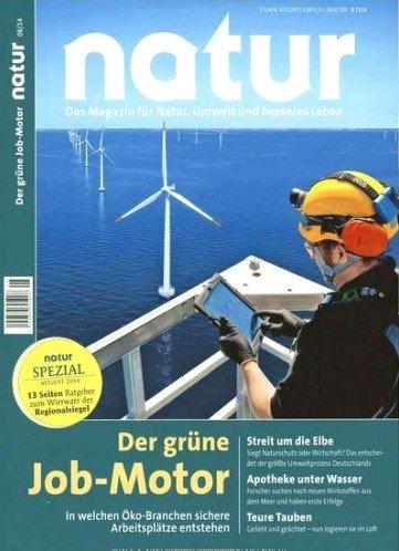 """""""Natur"""" Jahresabo für 58€ bzw. 53€ + 50€ Universalgutschein"""
