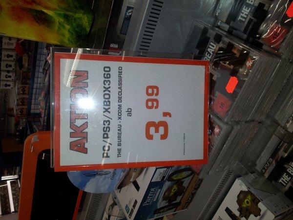 The Bureau - XCOM Declassified ab 3, 99 € Saturn Bochum
