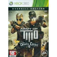 [Play-Asia.com] ARMY OF TWO: THE DEVIL'S CARTEL (OVERKILL EDITION) für Xbox 360, Idealo.de ab 31,49€