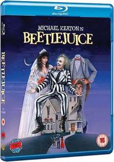 Beetlejuice - 20Th Anniversary Edition (Blu-ray) für 7,75€ @Zavvi.nl