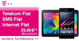 [logitel] Telekom Complete Comfort S Friends mit Sony Z1 Compact + Samsung Galaxy Tab 4 10.1