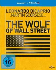[Blu-ray] The Wolf of Wall Street Steelbook (ab 14,99€), Serien u.v.m. @ Alphamovies