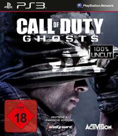 [Amazon] Call of Duty: Ghosts 13,39 inkl. Strafversand (8,39+5)
