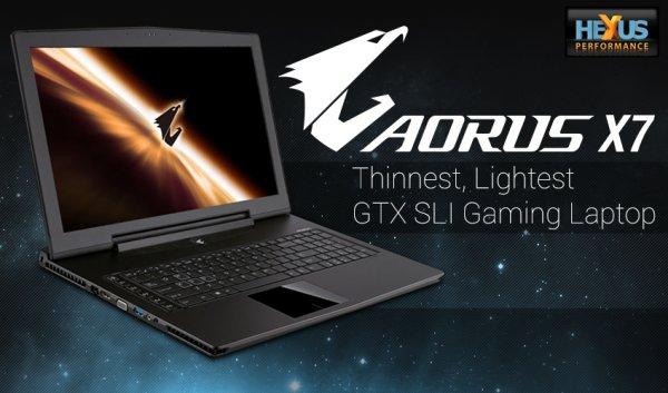 GIGABYTE AORUS / X7 i7-4700HQ / 2x NVIDIA GeForce GTX 765M SLI / 2x 128 GB SSD (Raid 0 ) + 1000GB HDD / 16GB RAM