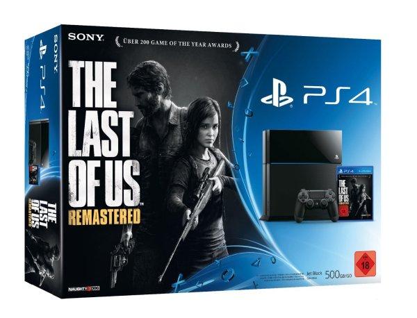 Amazon: Sony PS4 + The last of us Bundle
