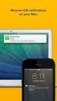 [iOS] Notifyr - Receive iOS notifications on your Mac (z.B. Whatsapp) - sonst 3,99€