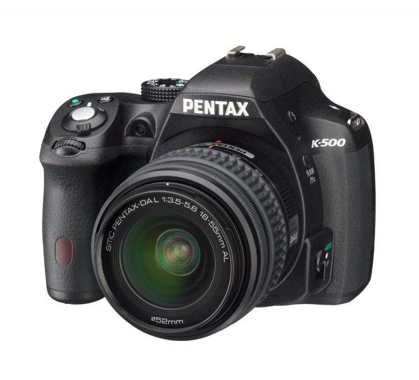Pentax K-500 Kit 18-55 mm für 349,11€ @Amazon.fr