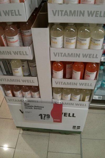 [Lokal Berlin?] Vitamin Well 500ml im Rewe für 1,79€ zzgl. Pfand