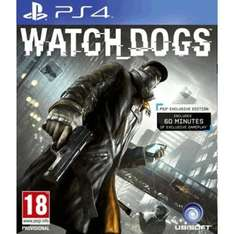 Watch Dogs für PS4 (pre-owned) bei gamescentre.co.uk