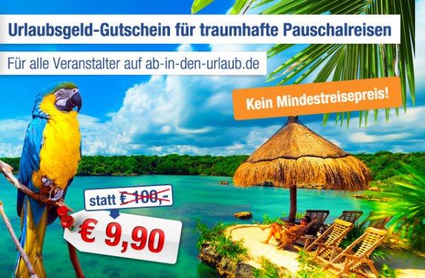 Neue Aidu Gutscheine - Pauschalreise mit Ab-in-den-Urlaub