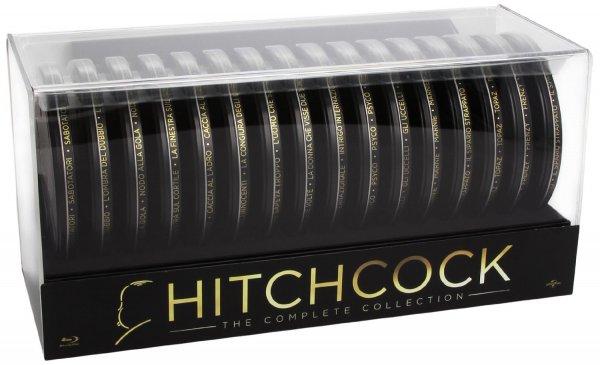 Hitchcock Collection - Filmdosen  [16 Blu-rays] für 72,78 € inkl.Versand