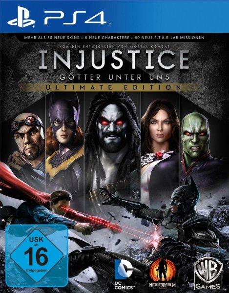 Injustice Playstation 4 @ Amazon für 32,97 Euro inkl. Versandkosten (Prime)