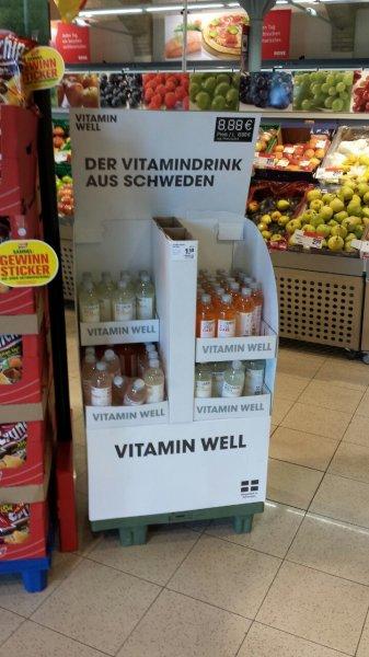 Vitamin Well 50 mal im REWE Eldenaderstrasse 31