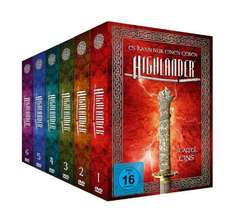 Highlander - Package 1-6 [Limited Edition] [45 DVDs] für 66€ @Amazon.de