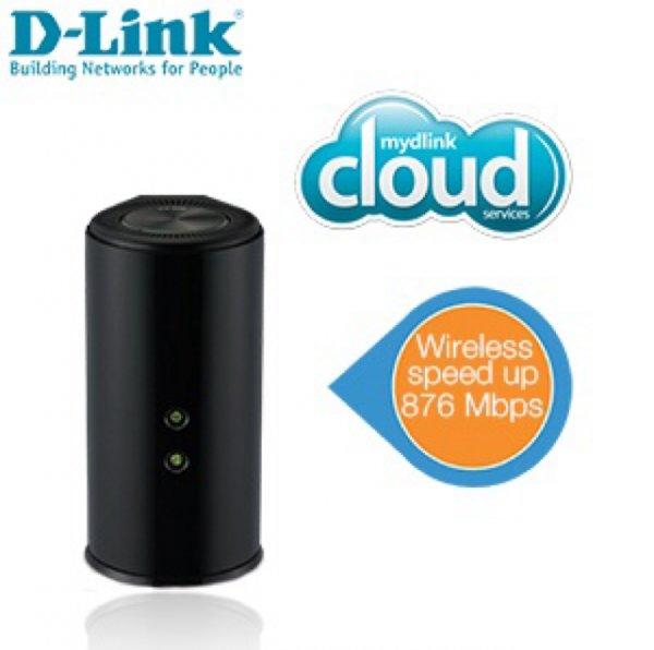D-Link Wireless AC1200 Dual-Band Gigabit Cloud Router @iBood.de