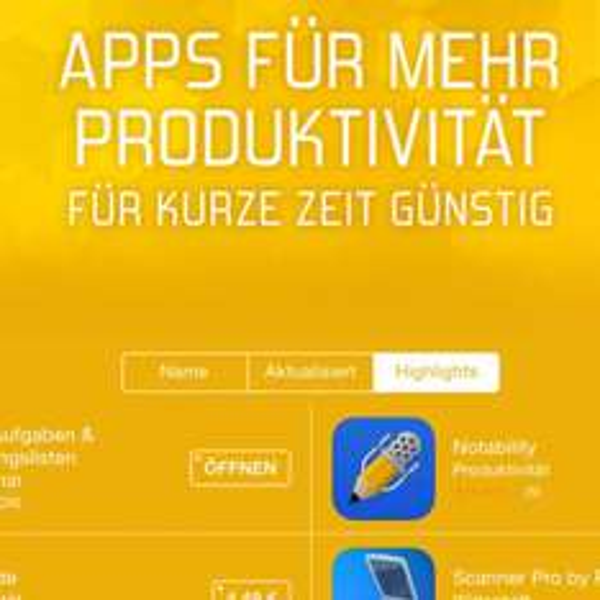 [iOS] Produktivität – Apps im Sale z.B. Launch Center Pro, Fantastical 2, PDF Expert 5, Tydlig uvm. günstig!