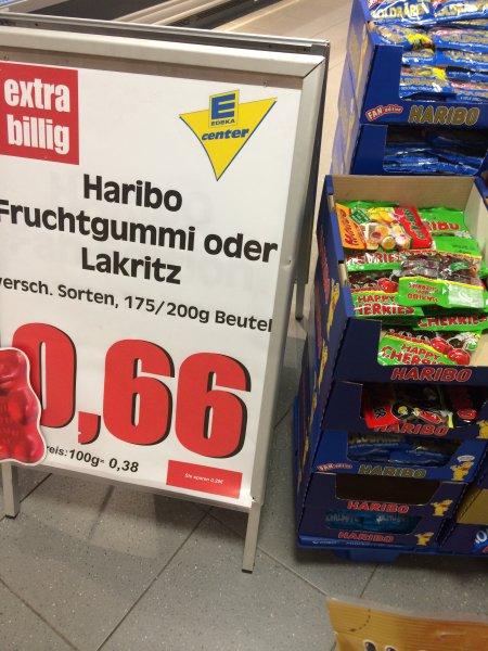 Haribo diverse Sorten für 0,66€ [Bundesweit]