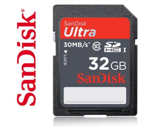 Sandisk SDHC Ultra 32GB Class 10 UHS-I für 16,48€ @ebay