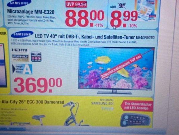 Samsung 40 Zoll  Tv