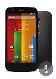 Motorola Moto G 8 GB für 122 €, 16 GB für 149 €