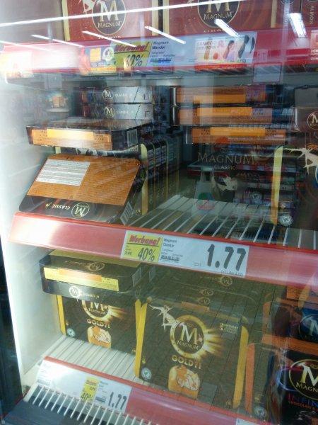 Magnum alle Sorten -40% (4er Packung) - Kaufland