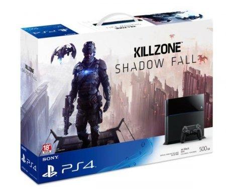 PS4 500GB + Killzone Shadow Fall (ink. Versand)