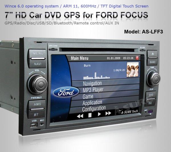 [div. Ford Modelle] China RNS (Radio, Navi, USB, etc) A-Sure (Ersatz CD6000)