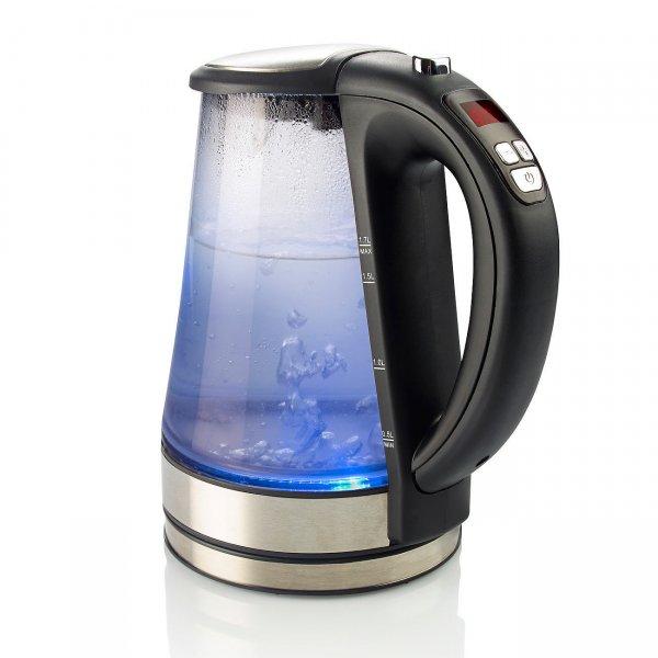 Ebay WoW : Rosenstein & Söhne Glas-Wasserkocher mit Display und Temperaturwahl 29,95€ von Pearl
