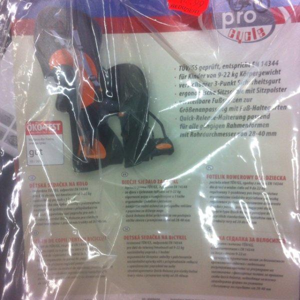 "[Kaufland Greiz] Fahrrad Kindersitz ""Prophete Wallaroo"" für 14,99€, 50% unter Amazon"