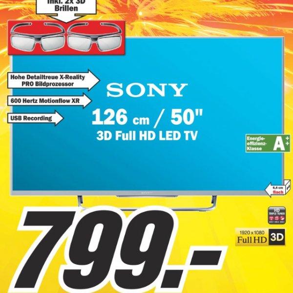 [lokal Media Markt Heidelberg ]Sony KDL 50 W 815