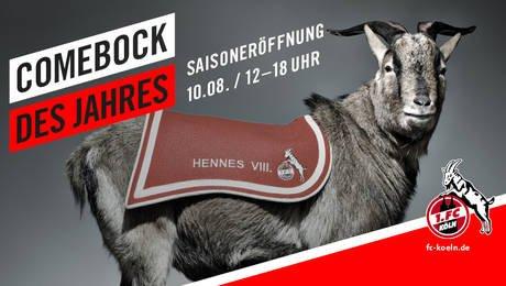 10.8.2014 - 1. FC Köln Saisoneröffnung  mit Konzerten von Brings, Kasalla und Cat Ballou
