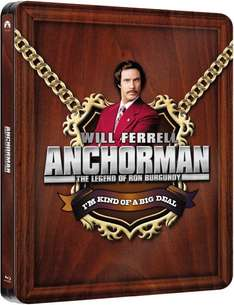 Anchorman: The Legend of Ron Burgundy - Zavvi Exclusive Limited Edition Steelbook Blu-ray (Englischer Ton)