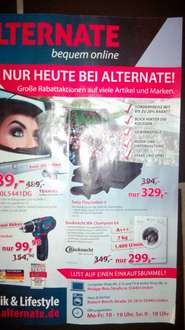 [Lokal Linden] Playstation 4 bei alternate