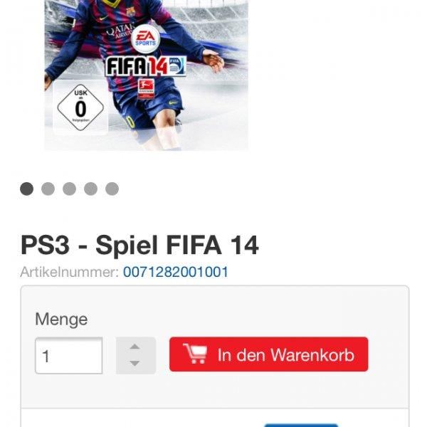 (Real) XBOS/PS3 FIFA 14