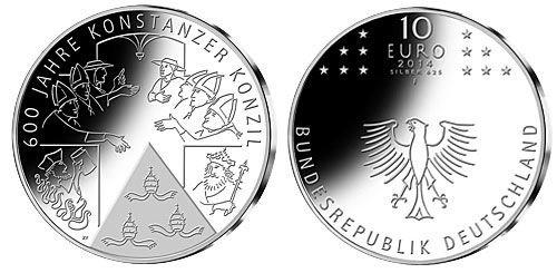 10 Euro Konstanzer Konzil zum Tauschpreis von 10 Euro