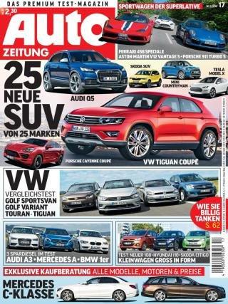 Auto Zeitung mit Universalgutschein für 5€ effektiv