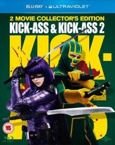 Kick-Ass & Kick-Ass 2 (Inkl. UV Copy) [Blu-ray] für 12,89€ @Zavvi.com