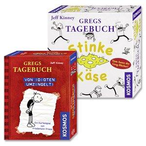 Kosmos Gregs Tagebuch Stinke Käse & Von Idioten umzingelt für 19,99€ @Real