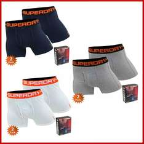 Superdry Boxershorts Doublepack - eBay