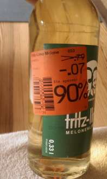 Fritz -Limo Melone Limonade im Kaufland Potsdam