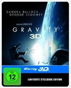 [amazon.de] Blitzangebot: Gravity Steelbook 3D