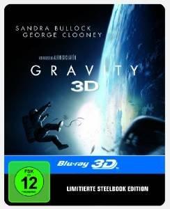 [amazon.de] Blitzangebot: Gravity Steelbook 3D