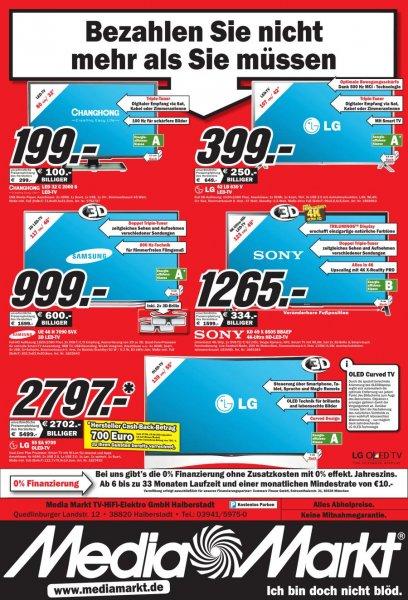 TV Werbung Media Markt Halberstadt LG EA 9709 OLED 2797€