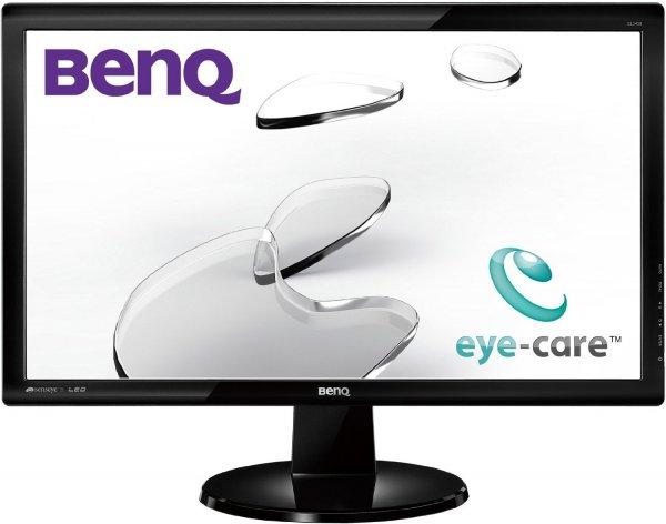 BenQ GL2450H 61 cm (24 Zoll) LED Monitor (Full-HD, HDMI, VGA, 2ms Reaktionszeit) schwarz (Amazon bis 17 Uhr!)